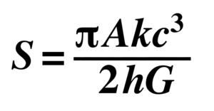 Entropy Formula